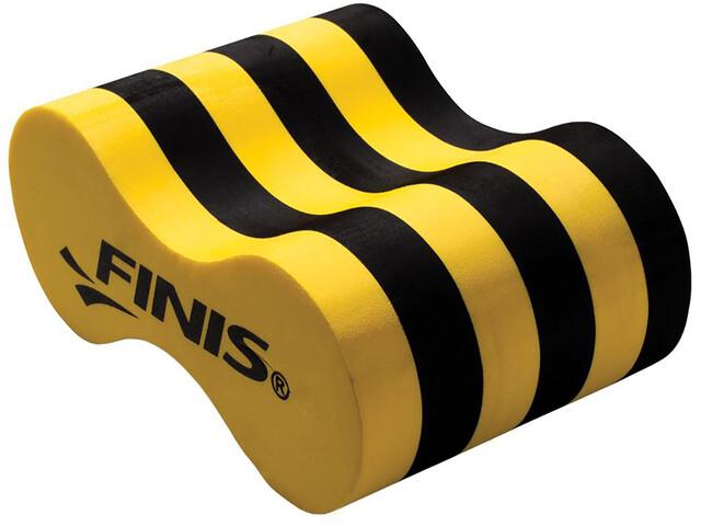 FINIS Foam Pull Buoy Kids, black/yellow